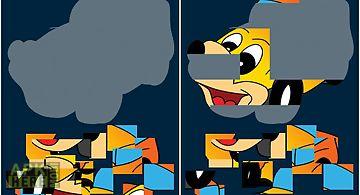 Puzzle shapes - vehicle