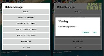 Reboot manager (*root*)