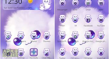 Cute kawaii theme