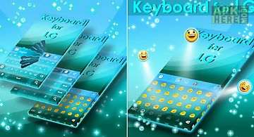 Keyboard for lg