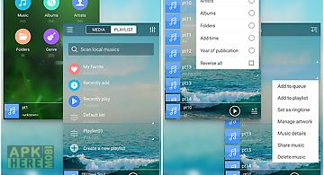 Mp3 music player pro for Android free download at Apk Here store