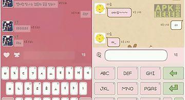 Phone themeshop keyboard