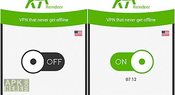 Reindeer vpn - fast and pretty
