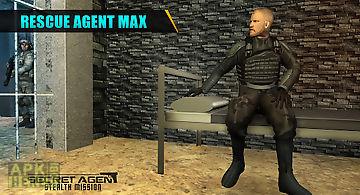 Secret agent stealth mission