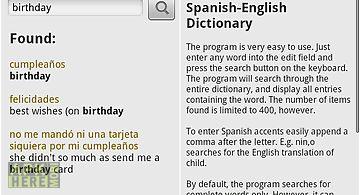 Spanish to english