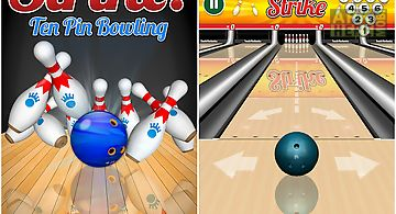 Strike! ten pin bowling