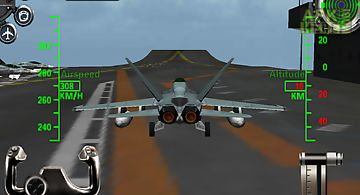 F18 3d fighter jet simulator