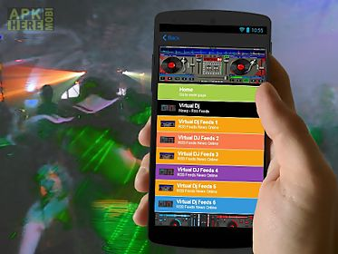 User content for virtual dj for Android free download at Apk