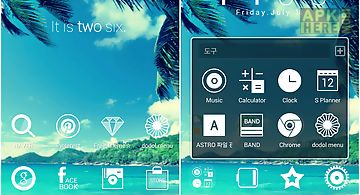 Anothersky line launcher theme