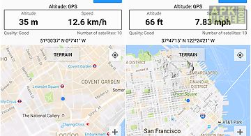 Altimeter Barometer For Android Free Download At Apk Here Store - Altimeter map