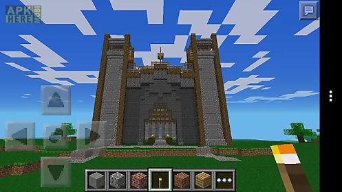 epic minecraft pe castle 2