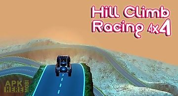 Hill climb racing 4x4: rivals ga..