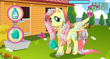 Pony makeover hair salon