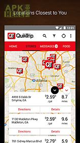 Quiktrip qt gas, food coupons for Android free download at