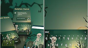 Skeleton dance keyboard