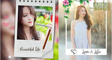 Blur photo collage