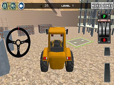 construction car parking 3d