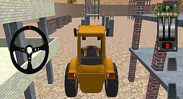 Construction car parking 3d