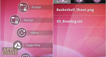 Sse - universal encryption app for Android free download at Apk Here