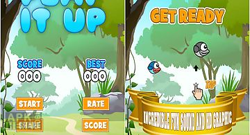 Flappy blue bird - the clever cl..