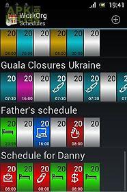 workorg (shift planner)