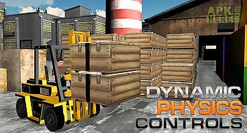 Cargo forklift challenge 3d