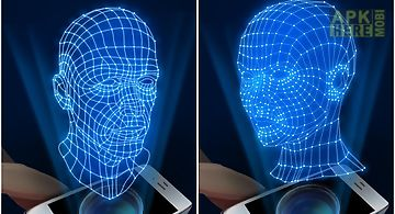 Hologram human 3d simulator