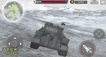 Urban tank war 3d