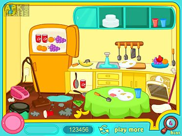 clean up my messy kitchen
