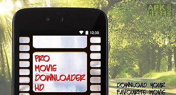 Pro movie downloader hd
