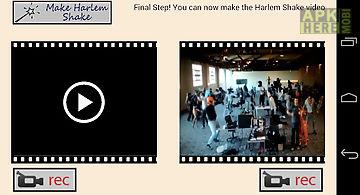 Harlem shake maker slow motion