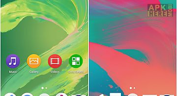 Xperia z 3d contact list/theme for Android free download at Apk Here