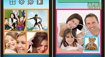 Vidpic video collage photo pic