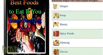 Best foods to eat if you start f..