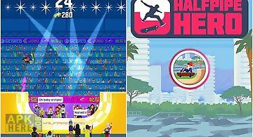 Halfpipe hero: skateboarding