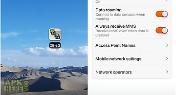2g 3g 4g lte network monitor for Android free download at Apk Here