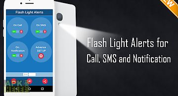 Flash light alerts
