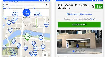 Spothero: parking deals nearby