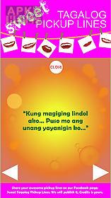 sweet tagalog pickup lines