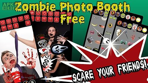 zombie photo booth free