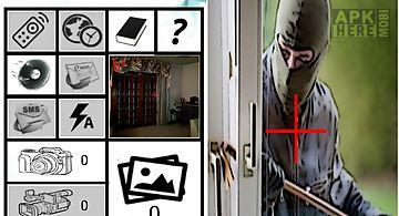 Sensor alarm spy camera free