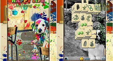 Hidden mahjong: happy dog life