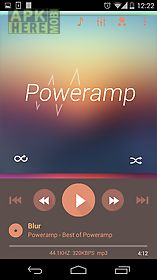 skin for poweramp flat autumn