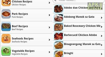 Food food official for android free download at apk here store pinoy food recipes forumfinder Images