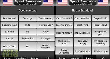 Speak american free