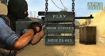 Gunfire battle-sniper shooting