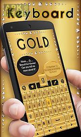 gold go keyboard theme