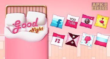 Good night go launcher theme
