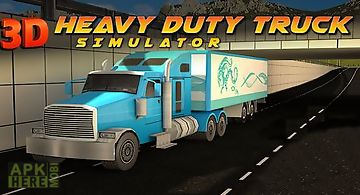 Heavy duty trucks simulator 3d