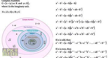 Mathematics formula reference